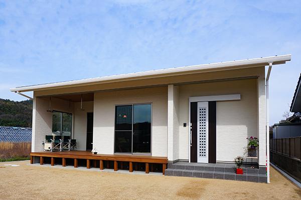 岡山市 平屋の家 外観